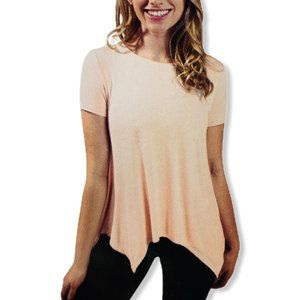ACTIVE LIFE Stretch Tunic Casual Workout Tee Shirt